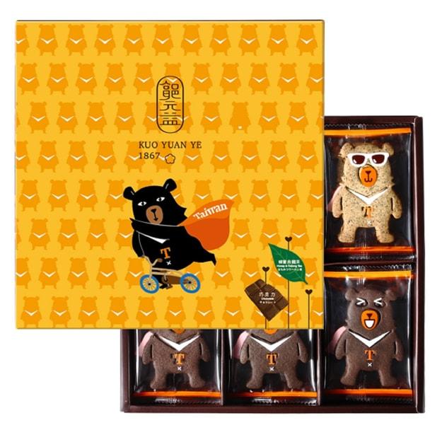 商品详情 - [台湾直邮] 郭元益 喔熊OhBear饼干 264g 24枚入 - image  0