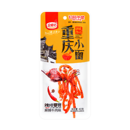 JINMOFANG Chongqing Noodle Snacks Spicy Flavor 40g