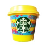 STARBUCKS Summer Limited Custard Mango Pudding 1 cup