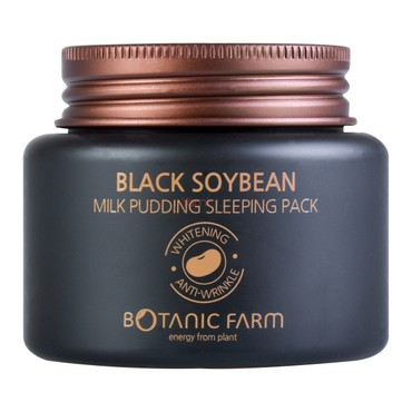 BOTANIC FARM Black Soybean Milk Pudding Sleeping Pack 80ml