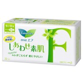 KAO LAURIER F Ultra Thin Sanitary Napkins with Wings Day Use 22.5cm 22pads