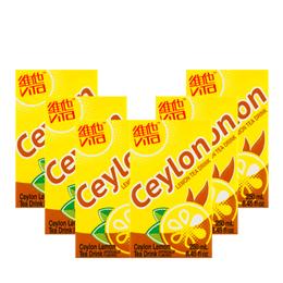 【6盒超值装】香港VITA维他 锡兰柠檬茶 250ml*6盒装 (新老包装随机发)