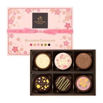 BELGIUM GODIVA Chocolate Sakura Limited Macaron 6pc