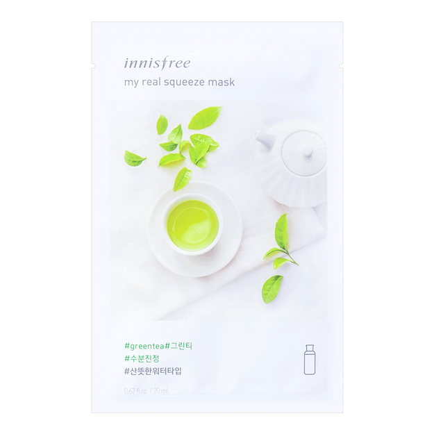 Product Detail - INNISFREE My real squeeze mask green tea 1sheet - image 0