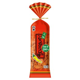 DHL直发【日本直邮】日本元祖级零食 越后制果 麻辣酱油酥脆小米果 80g