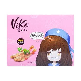 乐惠 VIKE鱼可儿 小黄鱼 香辣味 (盒装) 320g