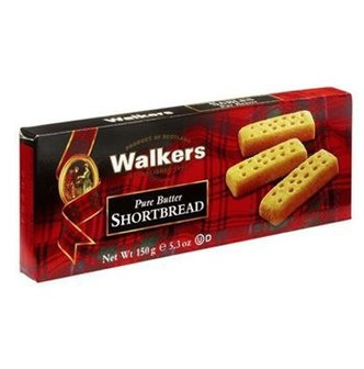 WALKERS Royal Butter Shortbread Cookies 150g