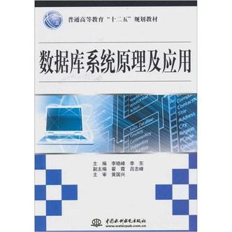 数据库系统原理及应用