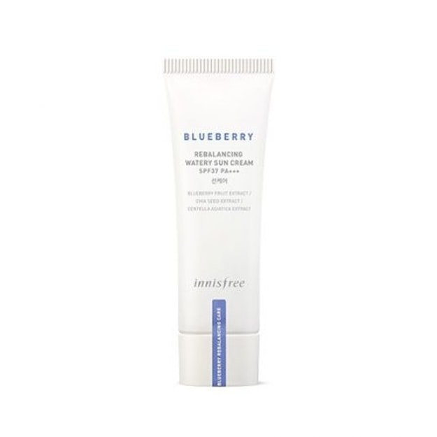 Product Detail - INNISFREE Blueberry Re-balancing Watery Sun Cream SPF37 PA+++ 40ml - image 0