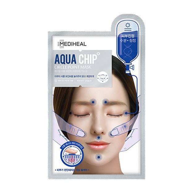 Product Detail - MEDIHEAL Circle Point Aquachip Mask 25ml - image 0