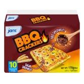 印尼JANS 烧烤味饼干 10包入 170g