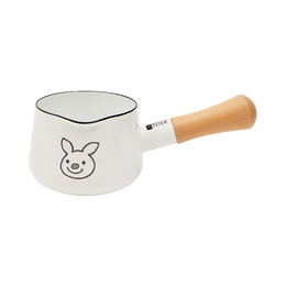 Luckypig||home 小猪图案奶锅||12cm 1个