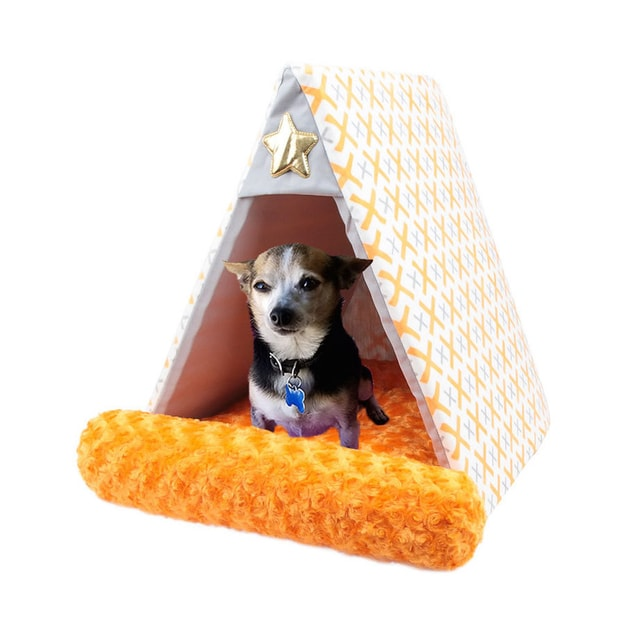 Product Detail - ALPHA DOG SERIES Tent Cushion  #Orange - image 0