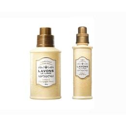 日本 LAVONS LE LINGE 衣物香水(洗衣液 + 柔软剂) 超值组合 月夜香槟  (850g+600ml)