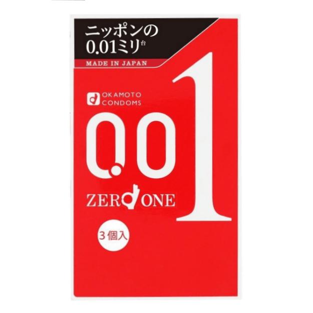 Product Detail - OKAMOTO 0.01 Condoms 3pc - image 0