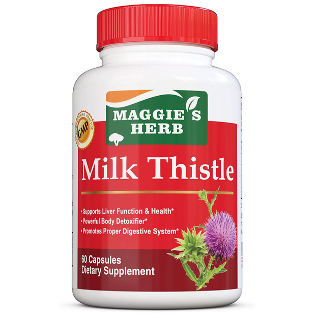 Product Detail - Maggie\'s Herb Milk Thistle 60 Capsules - image 0