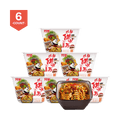 【6 pack】BJ-A-Kuan Instant Noodle Sweet Spicy 270g