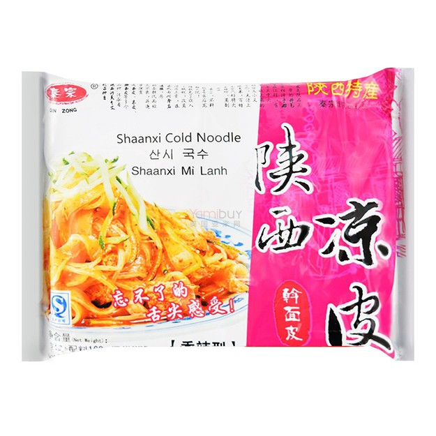 Product Detail - QINZONG Shanxi Cold Noodle Medium 168g - image 0