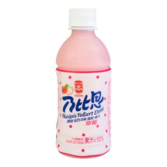 NAIPIS Yogurt Drink Strawberry flavor 350ml