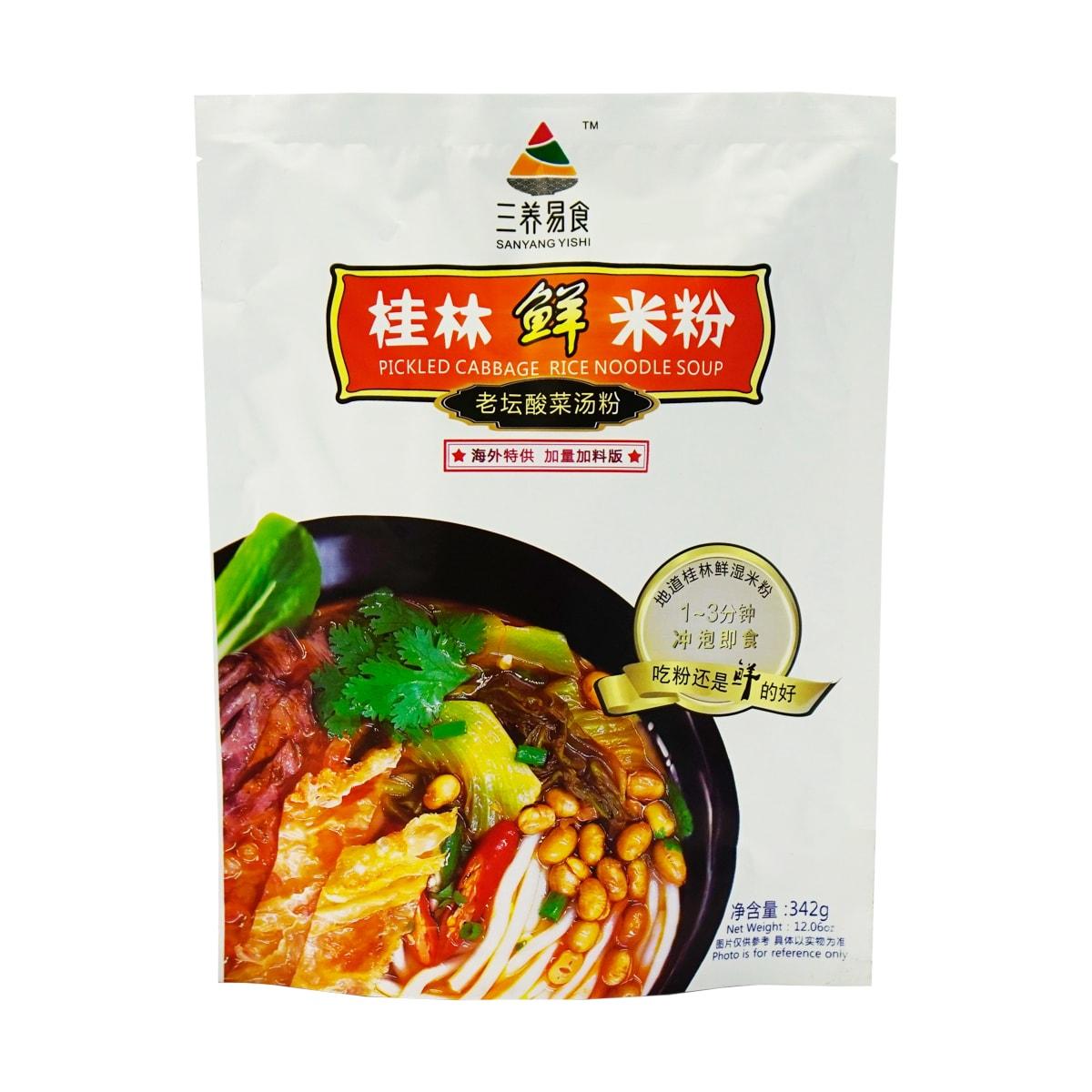 三养易食 老坛酸菜鲜米粉 袋装 342g 怎么样 - 亚米网