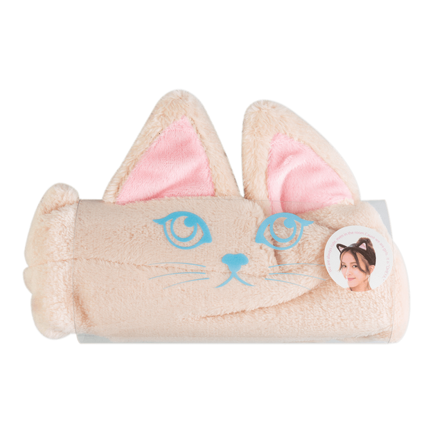 OHEYA MOKO MOKO Cat Ear Headband Beige