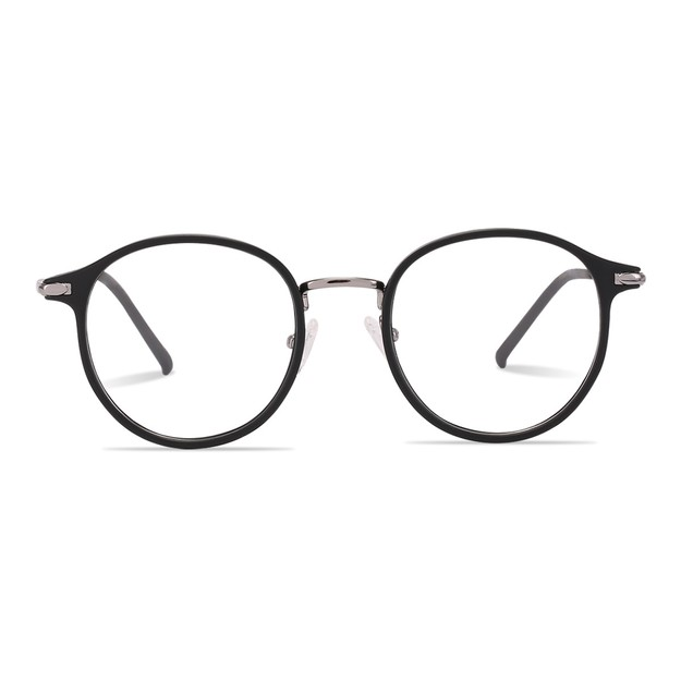 Product Detail - DUALENS Digital Protection Eyeglasses with Clip-on Sunglasses: Black (DL75017 C1) - Lens Included - image 0