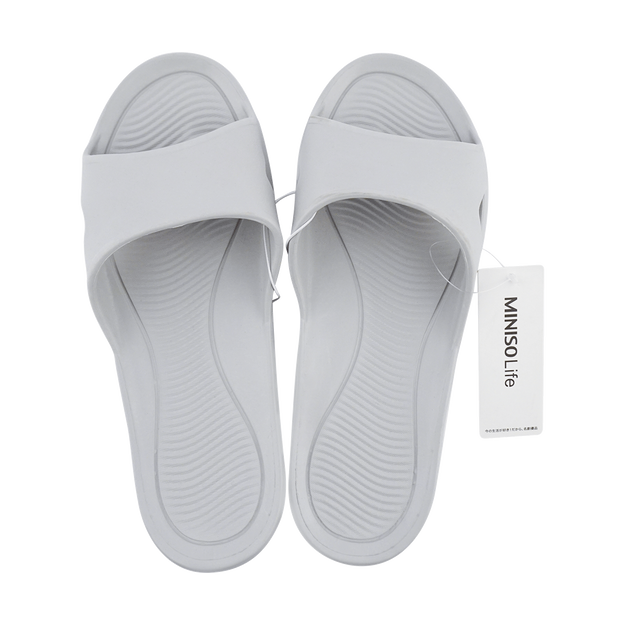 Product Detail - Men\'s Comfortable Bathroom Slippers EUR M 43-44 3 Colors Randomly Sent - image  0