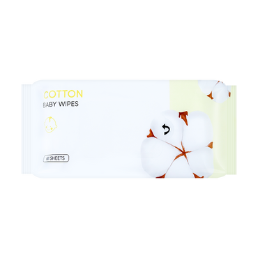 Miniso Cotton Series- Baby Wipes 60 Sheets
