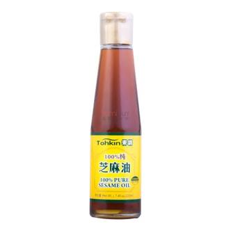 东锦TOHKIN 100%纯芝麻油 230ml