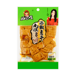 Dried Bean Curd Pickled Pepper Flavor 95g