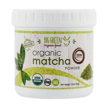 BIG GREEN Organic Matcha Powder 100g