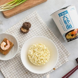 【CHINA DIRECT MAIL】YANXUAN Hokkaido Prawn Instant Noodles (61g*6Cups)