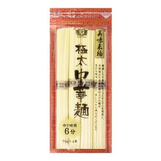 日本TANABIKI田靡制面 极太中华面  280g