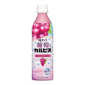 日本CALPIS 乳酸菌饮料 葡萄味 500ml