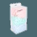 名创优品Miniso 沐浴球套装 泡沫丰富 3个装 颜色随机