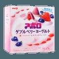 【超可爱】日本MEIJI明治 双莓夹心酸奶巧克力 44g