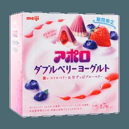 MEIJI Otsubu Apollo Double Berry Yogurt Chocolate 44g