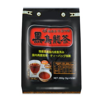 日本OSK 阻断脂肪油切瘦身黑乌龙茶 52包入 消脂解油腻
