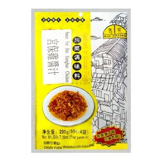 重庆老孔 川菜调味料 宫保鸡酱汁 200g