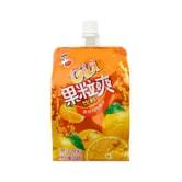 喜之郎 CICI 香橙汁果粒爽果冻饮料 258ml