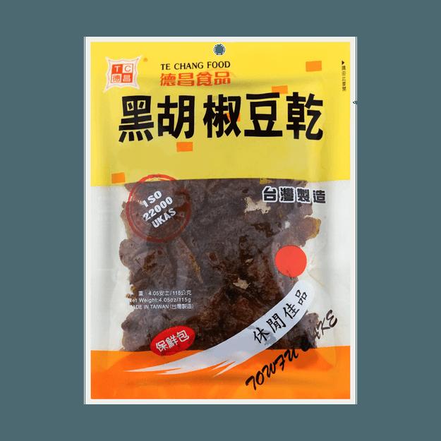 商品详情 - 台湾德昌食品 黑胡椒豆干 115g - image  0
