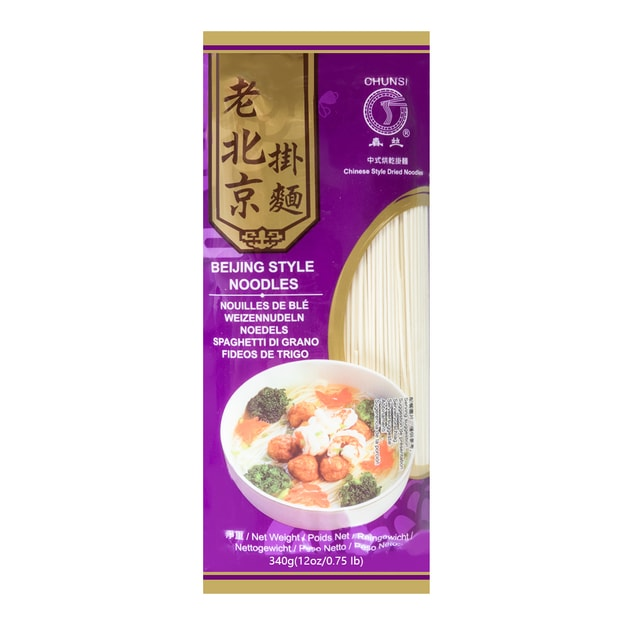 Product Detail - CHUNSI Beijing Style Noodles 340g - image 0