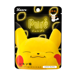 Pikachu Gummy Lemon Flavor 56g
