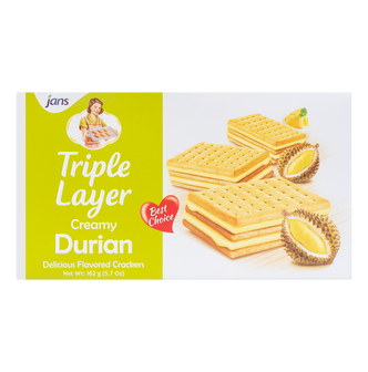 JANS Triple Layer Durian 162g