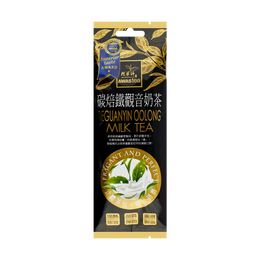 台湾阿华师 碳焙铁观音奶茶 荣获iTQi米其林食品指南奖章