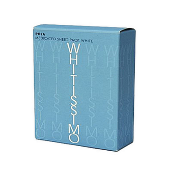 【日本直邮】日本 POLA  WHITISSIMO 局部集中美白面膜贴 60片