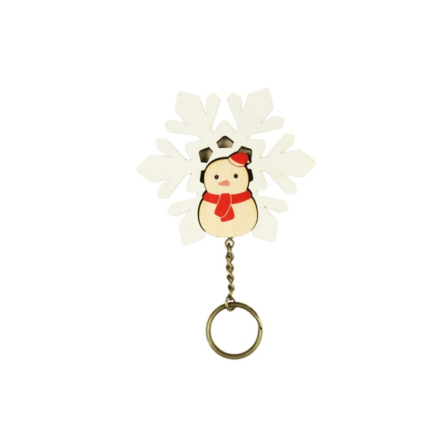 Product Detail - DAZZY LIFE Key House #Snowman - image 0