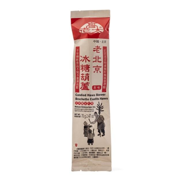 商品详情 - 老北京 冰糖葫芦 原味 70克 - image  0