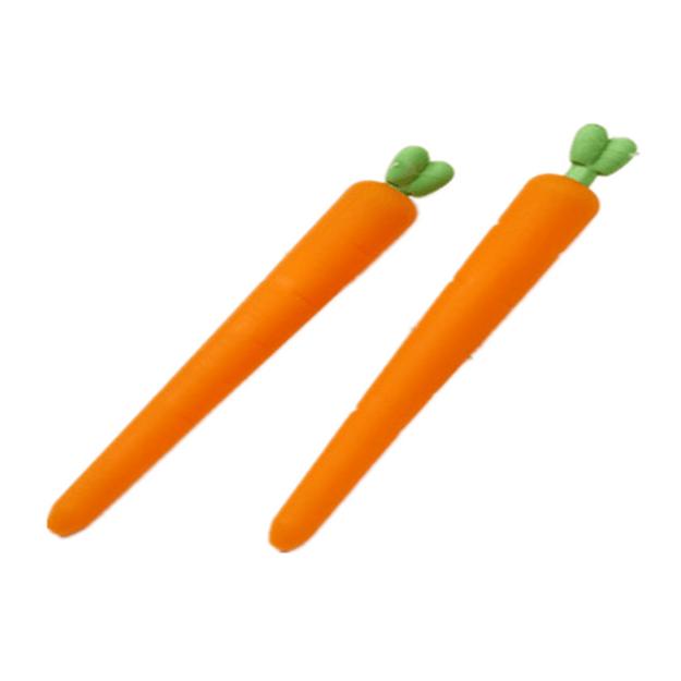 商品详情 - 一正(YIZHENG)胡萝卜造型磨摩擦 / 热可擦中性笔 配套专用橡皮  YZ1566  3支装 - image  0