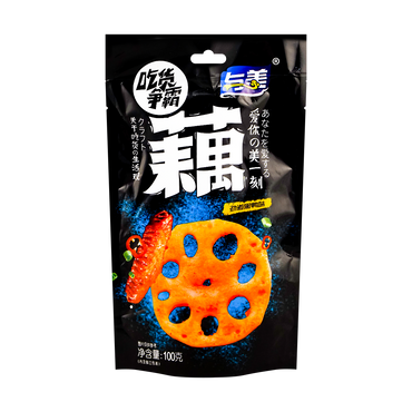 Lotus Root Sweet and Sour Spicy Flavor 100g